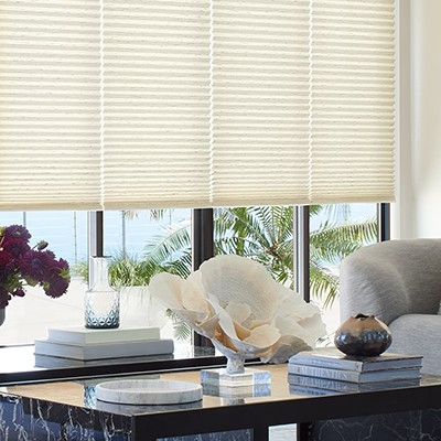 Custom Cellular Honeycomb Shades from Window Treatments by Design