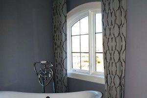 Bathroom Curtains in Hawthorn Woods Illinois