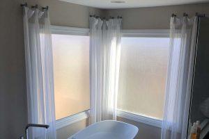 Bathroom Curtains in Lake Zurich Illinois