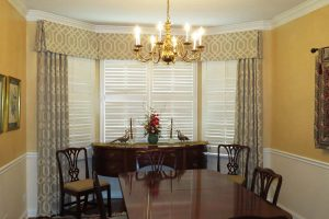 Dining Room Curtains in Deer Park Illinois