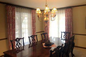 Dining Room Curtains in Kildeer Illinois
