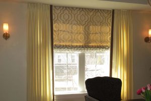 Dining Room Curtains in Lake Zurich Illinois