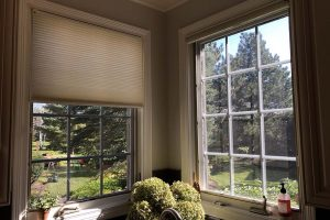 Honeycomb Shades in Lake Zurich Illinois