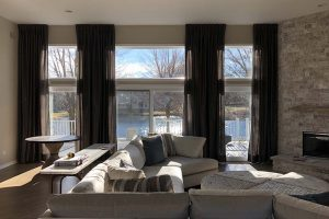 Living Room Curtains in Deer Park Illinois Sample 2
