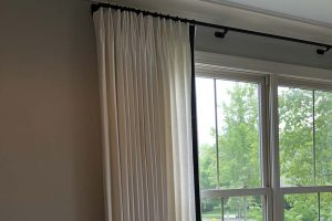Living Room Curtains in Hawthorn Woods Illinois Sample 2
