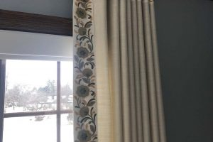 Living Room Curtains in Hawthorn Woods Illinois Sample 3