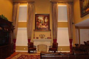 Living Room Curtains in Lake Zurich Illinois