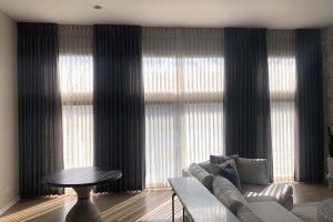 Living Room Curtains in Long Grove Illinois
