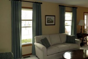 Living Room Curtains in Long Grove Illinois Sample 2