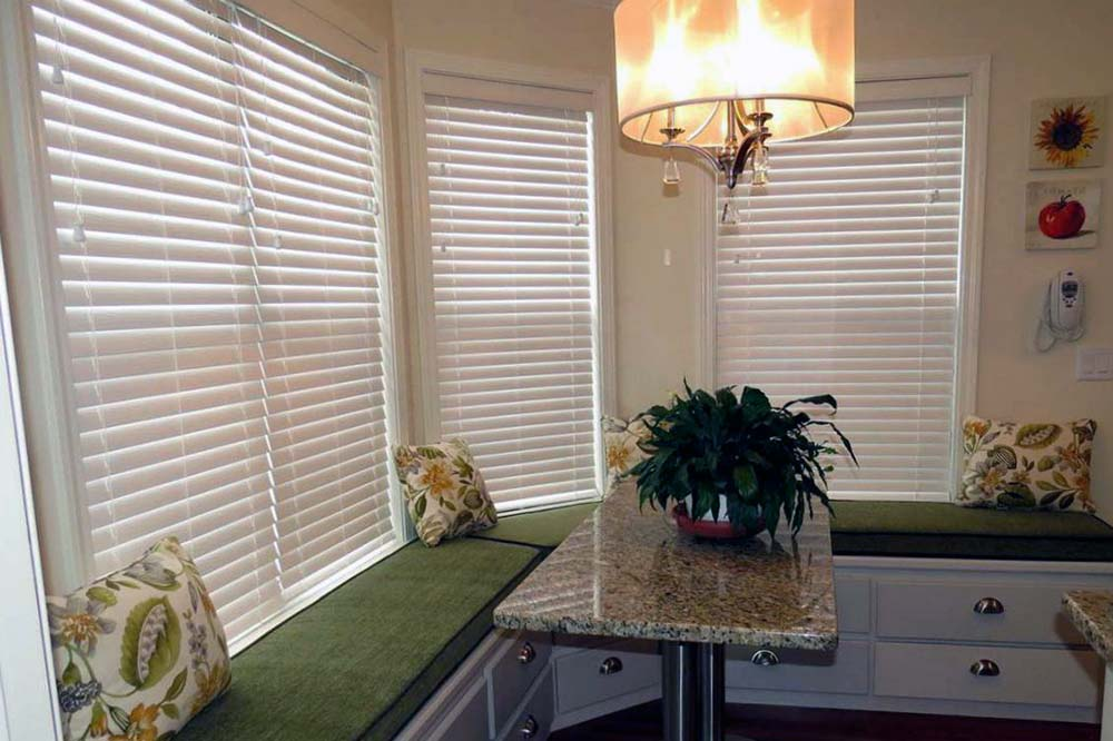 Wood Blinds from Window Treatments by Design - Lake Zurich Illinois