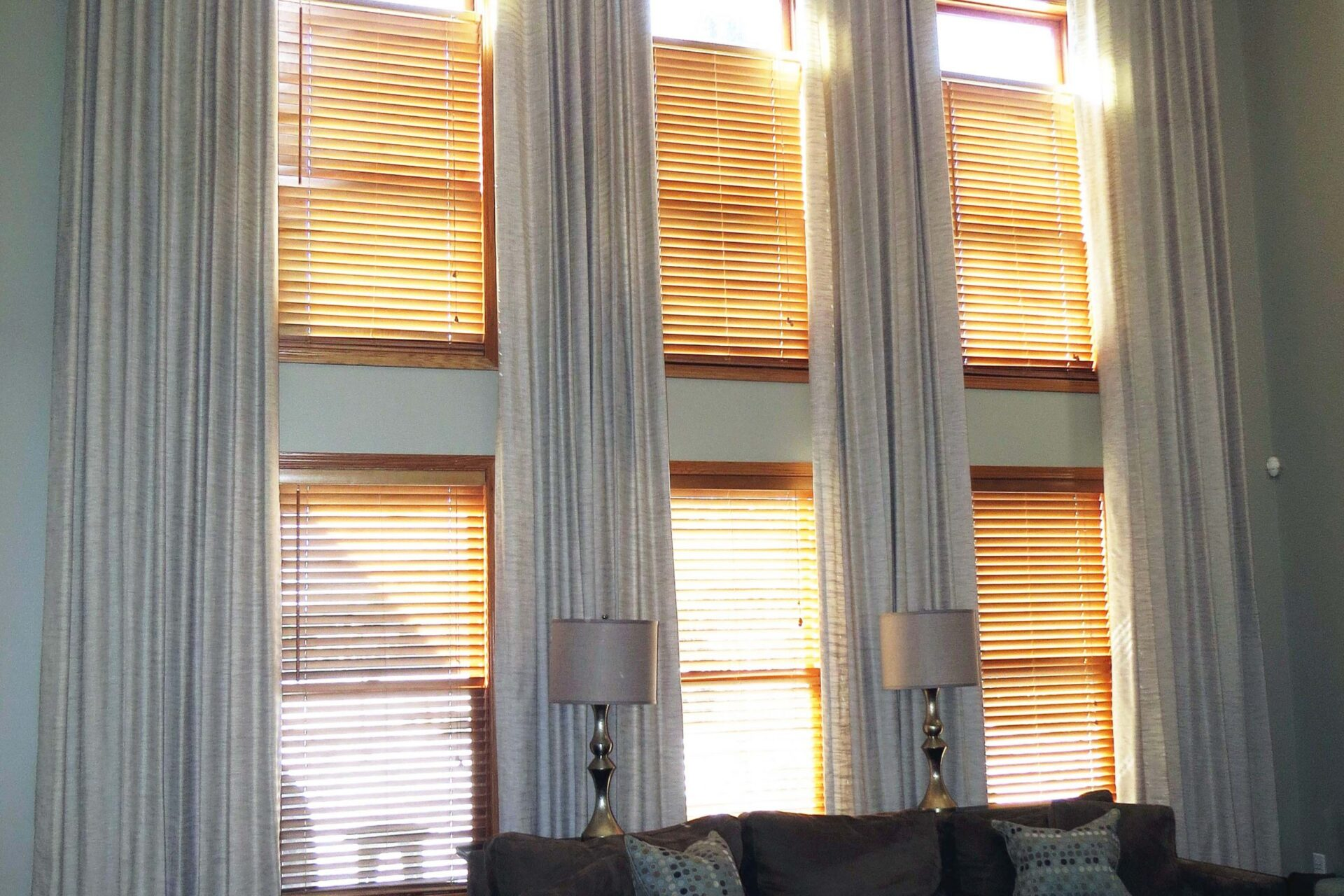 Wood Blinds from Window Treatments by Design - Deer Park Illinois