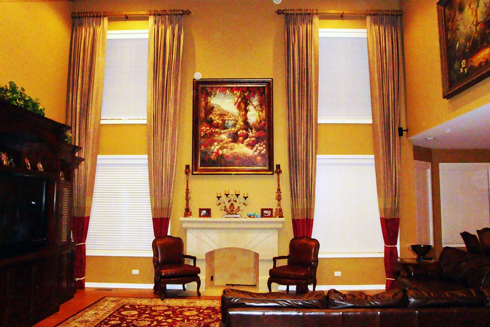 Wood Blinds from Window Treatments by Design - Hawthorn Woods Illinois